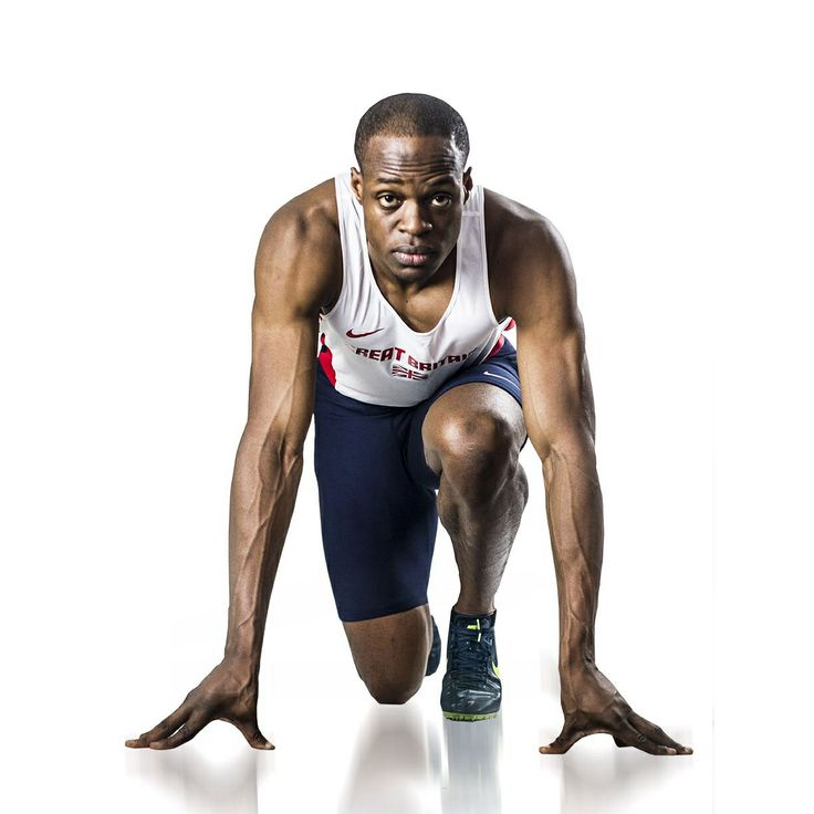 GB athlete James Dasaolu.