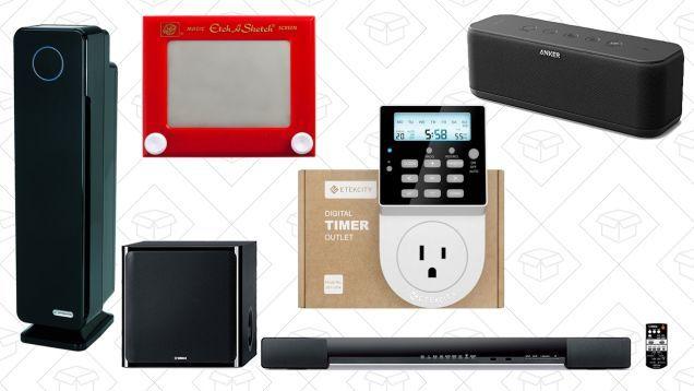 Mondays Top Deals: Yamaha Sound Bar Air Purifier Anker SoundCore and More