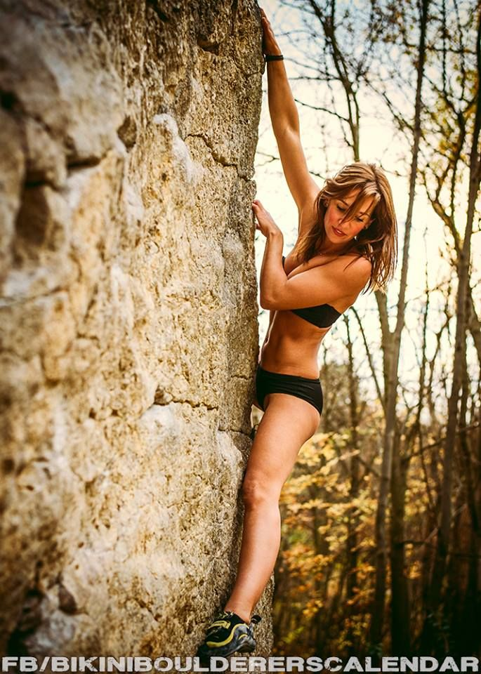 Bikini Bouldering Is Becoming More Popular Good News