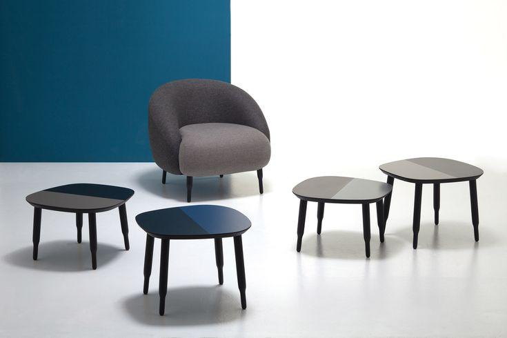 L'Abbate Italia: BUMP lounge and low tables | Nigel Coates