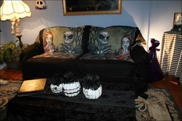nightmare before christmas decorations nicole 39 s. Black Bedroom Furniture Sets. Home Design Ideas