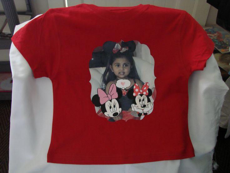 Let your children design their t-shirts