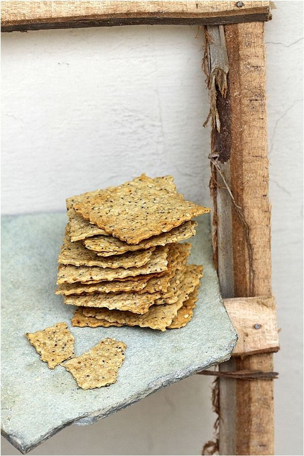 Pepper Jack and Oregano Crackers (Roll with pasta rollers or by hand):