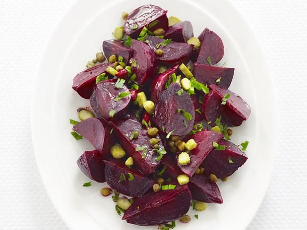 #FNMag's Roasted Beet Salad: Food Network, Side Dishes, Foodnetwork Com, Network Kitchens, Yummy, Roasted Beets Salad, Roasted Beet Salad, Beet Salad Recipes, Beets Salad Recipes