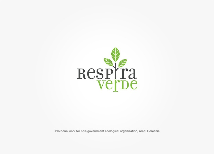 Logo design for romanian eco organization