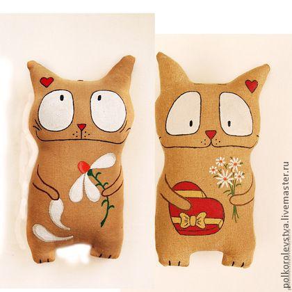 Ароматизированные куклы ручной работы. Ярмарка Мастеров - ручная работа Влюблённые  котэ. Handmade.