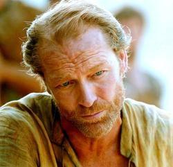Jorah Mormont played by Iain Glen.