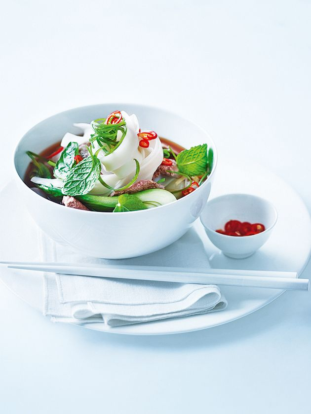 Vietnamese noodle soup. I learned about this soup on master chef, I got to try it at home.
