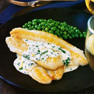 Sole (fish) with Lemon Cream - Easy French Recipes - 10 Traditional French Food Recipes - Delish.com
