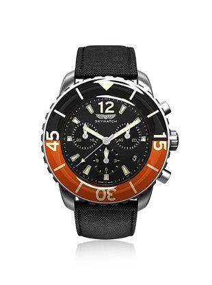 30% OFF Skywatch Unisex CCI018 Black/Orange Watch