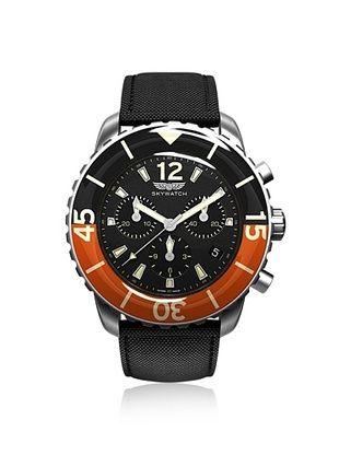 30% OFF Skywatch Unisex CCI018 Black/Orange Watch