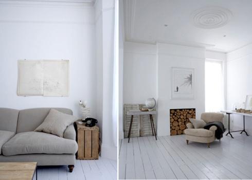 blanco rústico - white rustic visto en Deco puntosuspensivo por @rochinadecor