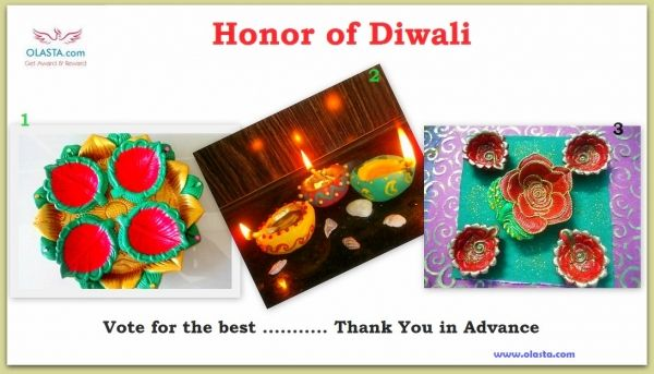 Honor of DIWALI 2014 : Vote for the Best. Thanks to all of YOU.