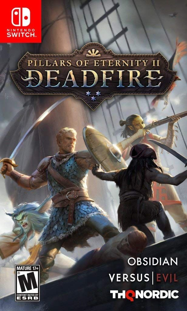 Pillars Of Eternity Ii Deadfire 8211 Nintendo Switch With