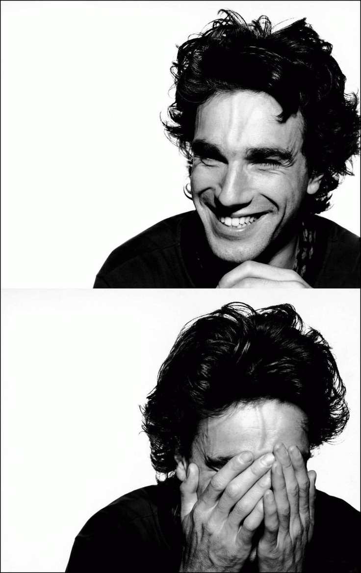 Daniel Day Lewis. A rare, genuine grin from one of the greatest actors of all time.
