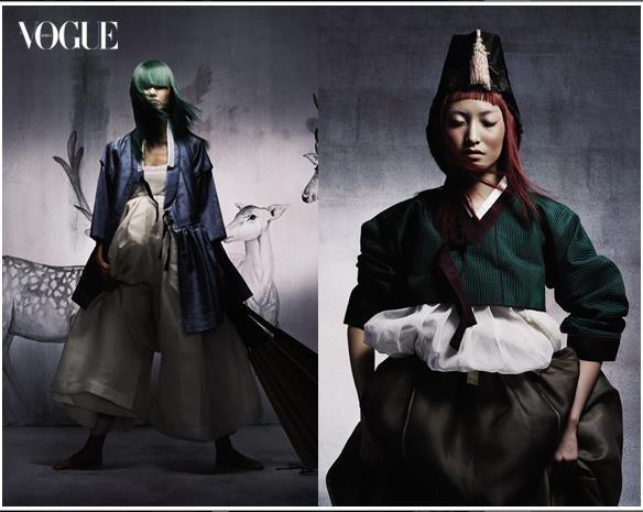 Vogue Korea Hanbok collection