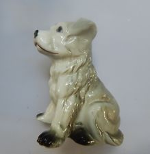 ♦Character Dog looks to be Wemblyware GC 10cm vintage handmade 1930s♦