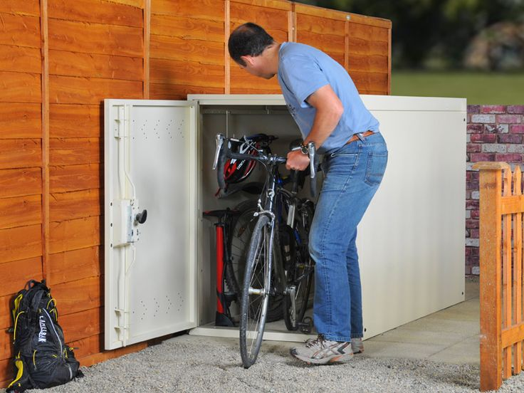 Bike Lockers Storage ~ http://lanewstalk.com/tips-on-