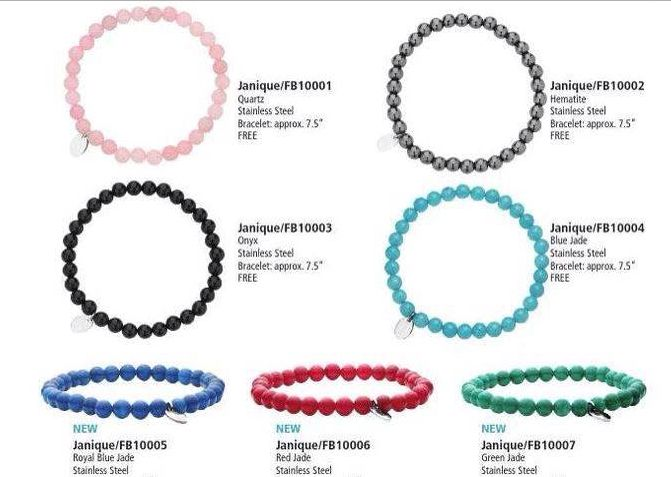 Now choose from 7 different bracelets as your FREE gift when you attend a Party!
