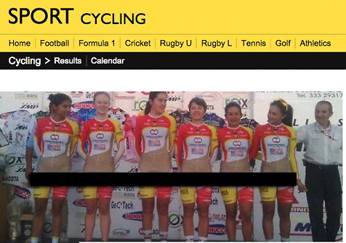 """Brian Cookson says UCI """"on the case"""" over Colombian women's team kit"""