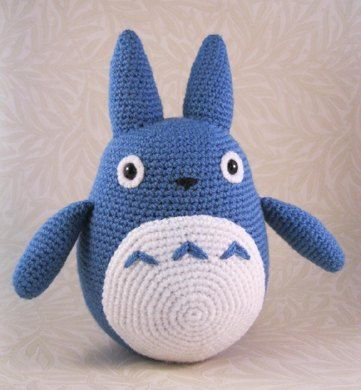 8 best totoro crochet patterns images on pinterest knitting make a cute little totoro from the film my neighbour totoro the pattern crochet dt1010fo