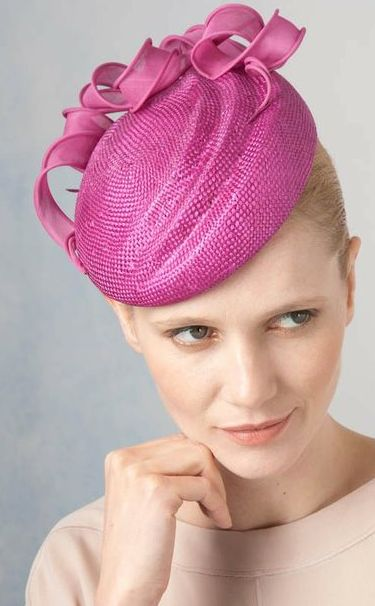 Jane Taylor Millinery, S/S 2014 - Dianthe- Ripple Cocktail Hat with Organdy. #passion4hats