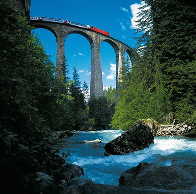 10 best train journeys: Bernina Express Switzerland-Italy