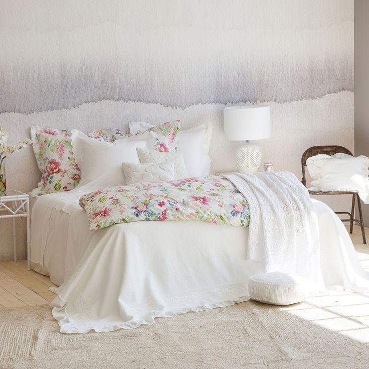 Las 25 mejores ideas sobre ropa de cama blanca en pinterest - Colcha blanca zara home ...