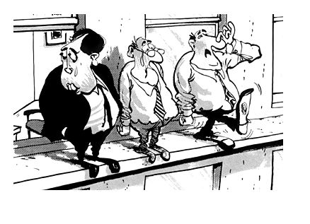 """This cartoon here is a cynical portrayal of black Tuesday. Part of the high life society that people wanted to live in the 1920s was this relatively new idea of a stock market. People with lower wages took loans and invested the money in this new medium that was the stock market in order to fund their """"high life"""". Because so many people were buying the value of these stocks kept on inflating till people withdrew their investment which, lead to a large collapse."""