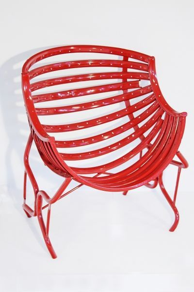 Single Chair - bicycle parts - For more great pics, follow www.bikeengines.com
