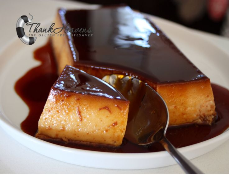 My favourite dessert: Norwegian Caramel Pudding (flan/creme caramel)! Velvety, creamy and actually quite healthy! Gluten-free with Dairy-free option