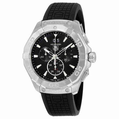 Tag Heuer Aquaracer Chronograph Black Dial Men's Watch CAY1110.FT6041