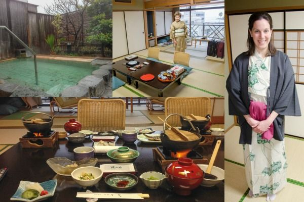Experience Japanese culture and relaxation: Tips for visiting a ryokan, a traditional Japanese inn with a hot spring spa.