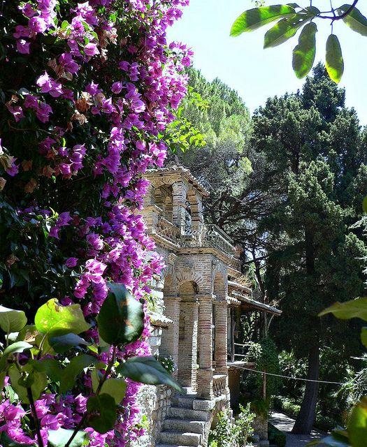 Taormina, Sicily - Beautiful public garden