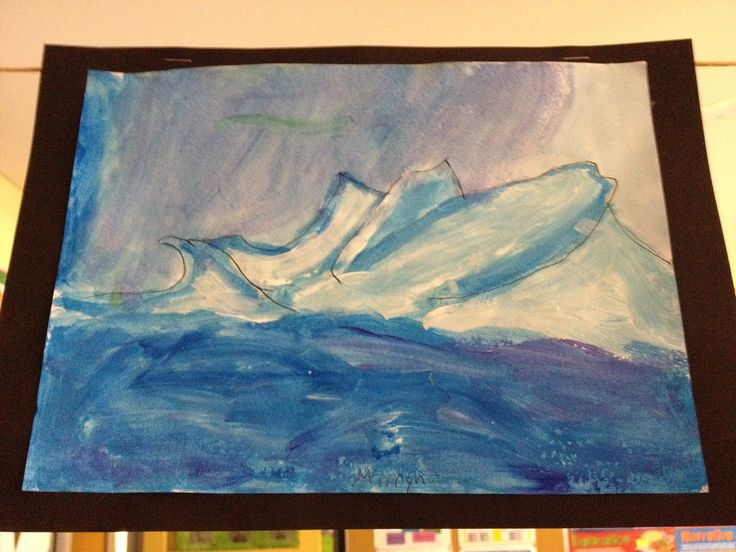 Antarctica art 6th