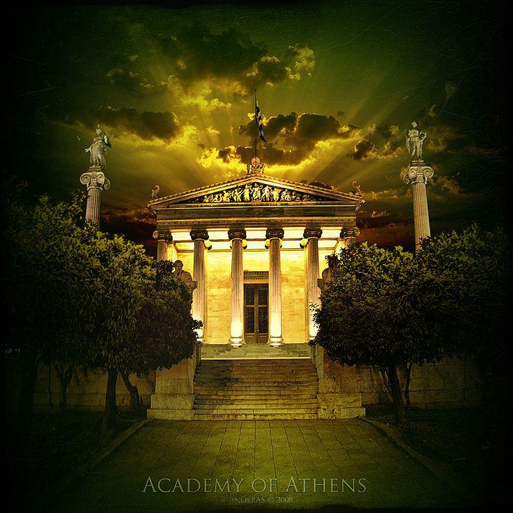 Academy of Athens by inObrAS.deviantart.com on @deviantART