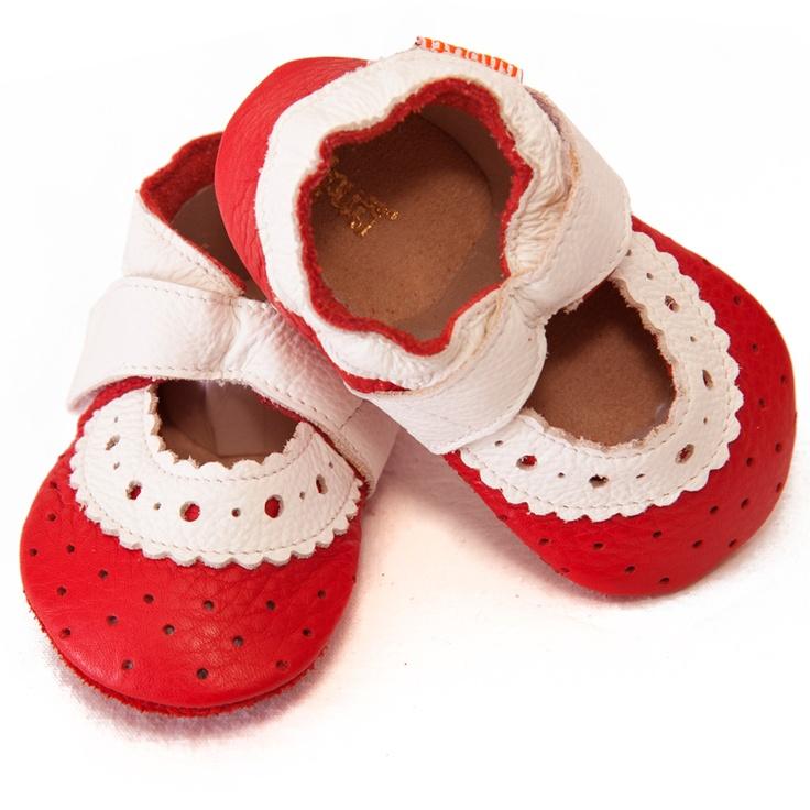 Liliputi® Soft Baby Sandals Sahara Red  #soft #liliputi #babysandals