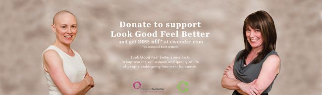 Look Good Feel Better Partners with C.Wonder & Fashion Project | The Shopping Mama #lookgoodfeelbetter #cwonder #fashionproject