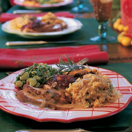 Our Favorite Traditional Christmas Dinners    Bring out your best when you host the big holiday meal. From beef tenderloin to traditional ham, check out our favorite menus for Christmas dinner.