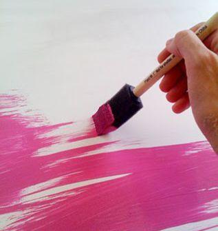 Peinture ardoise de couleur - Recette