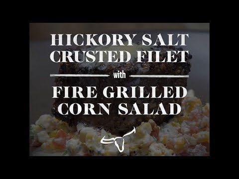 Hickory Salt Crusted Filet | Summer Grilling Recipes
