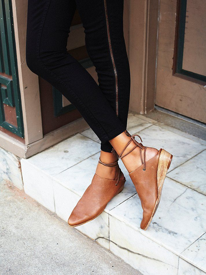 Fleetwood Mule Tie-up Shoes from Free People