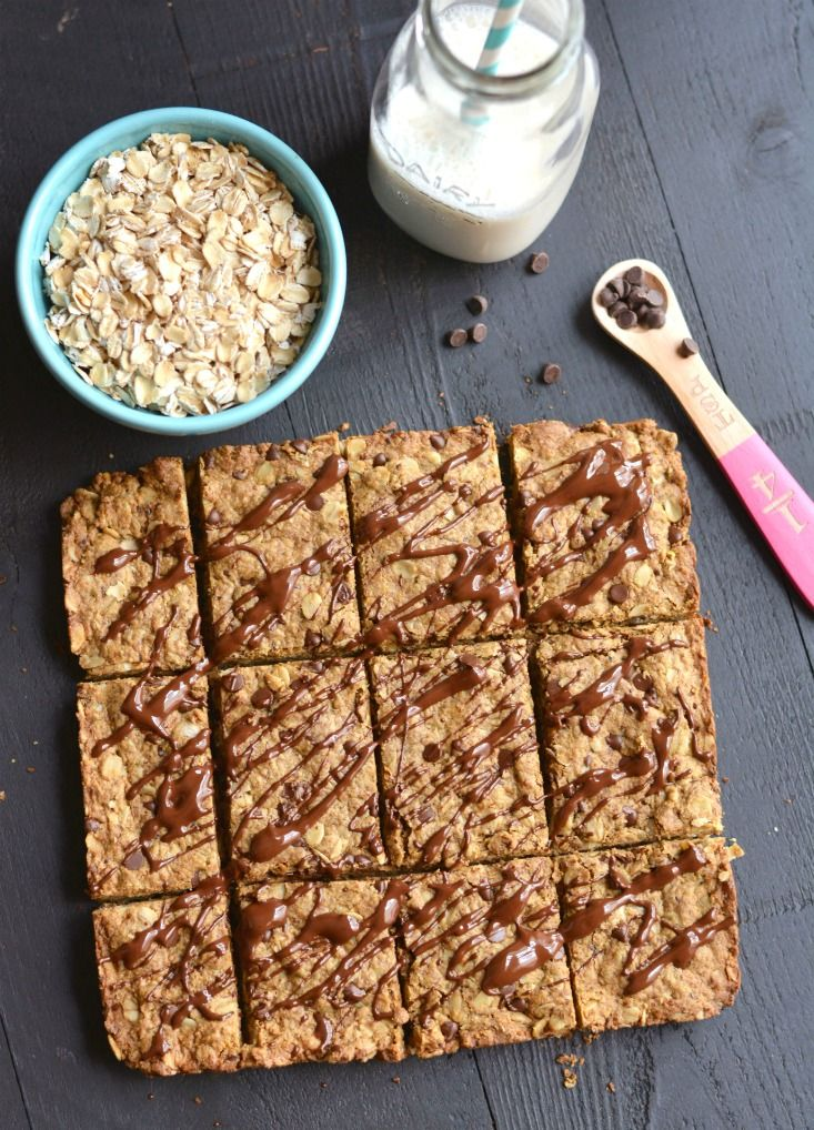 Chocolate Peanut Butter Granola Bars with protein & oats! Loaded with complex carbs, healthy fat & protein, this homemade granola bar recipe is perfect for healthy breakfast or snack! Gluten Free + Low Calorie + Vegan (chocolate oatmeal low calorie)