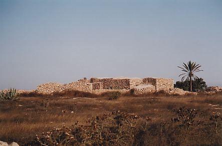 Tipico insediamento rurale con stalle per armenti, forno, giardino arabo, aia e......