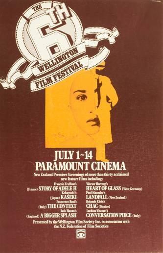 1977 #nziff New Zealand International Film Festival