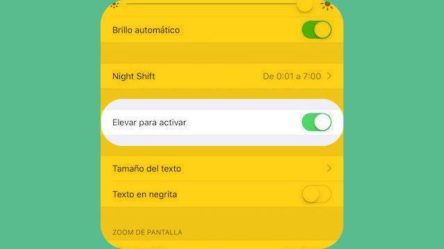 """Cómo deshabilitar """"elevar para activar"""" en el iPhone con iOS 10"""