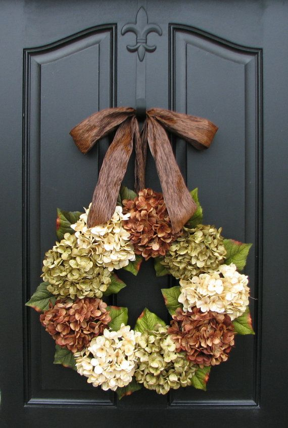 Hey, I found this really awesome Etsy listing at https://www.etsy.com/listing/125901925/hydrangea-wreath-spring-decorations