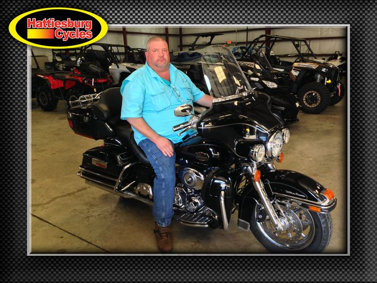 Thanks to Greg Donald from Philadelphia MS for getting a 2008 Harley-Davidson Ultra Classic @HattiesburgCycles