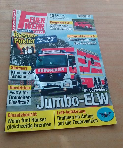 Feuerwehr Magazin,   Ausgabe 10 Oktober 2011, € 2