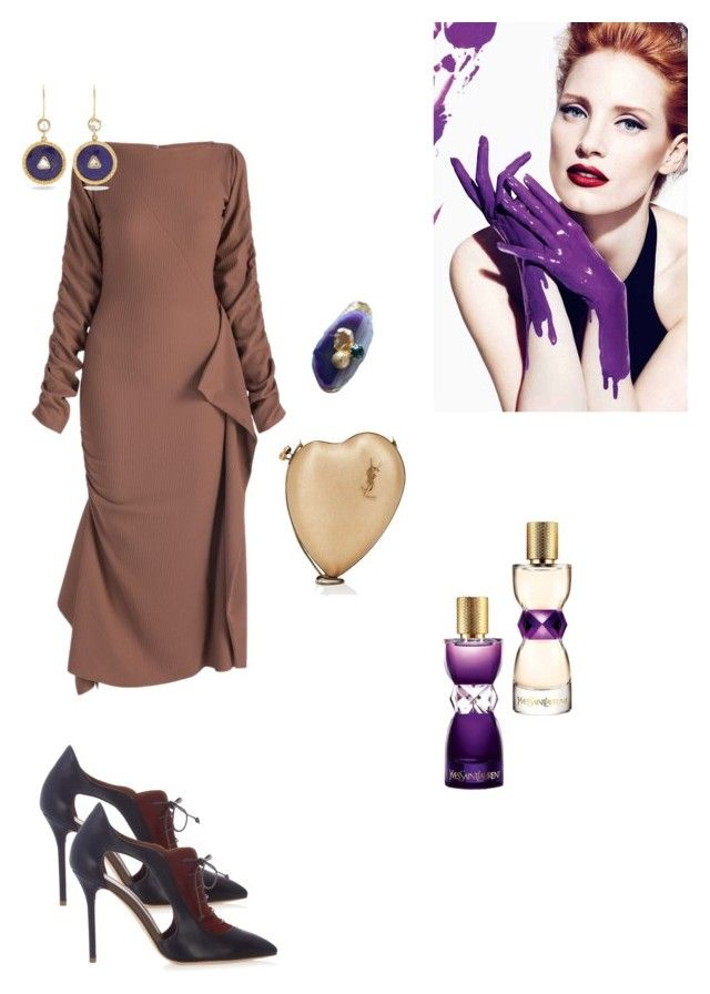 """""""213"""" by explorer-14809378428 on Polyvore featuring мода, Malone Souliers, Yves Saint Laurent и Jade Jagger"""